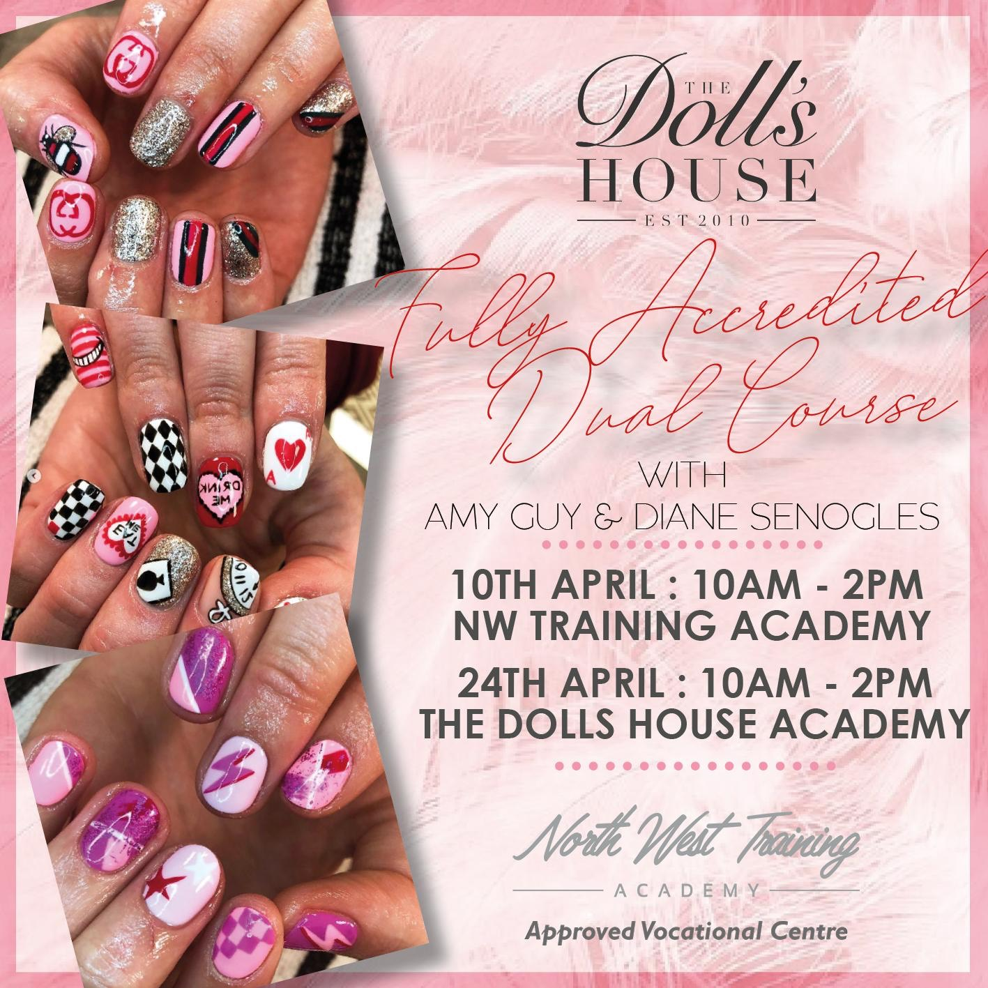 Fully accredited gel nail & nail art dual course