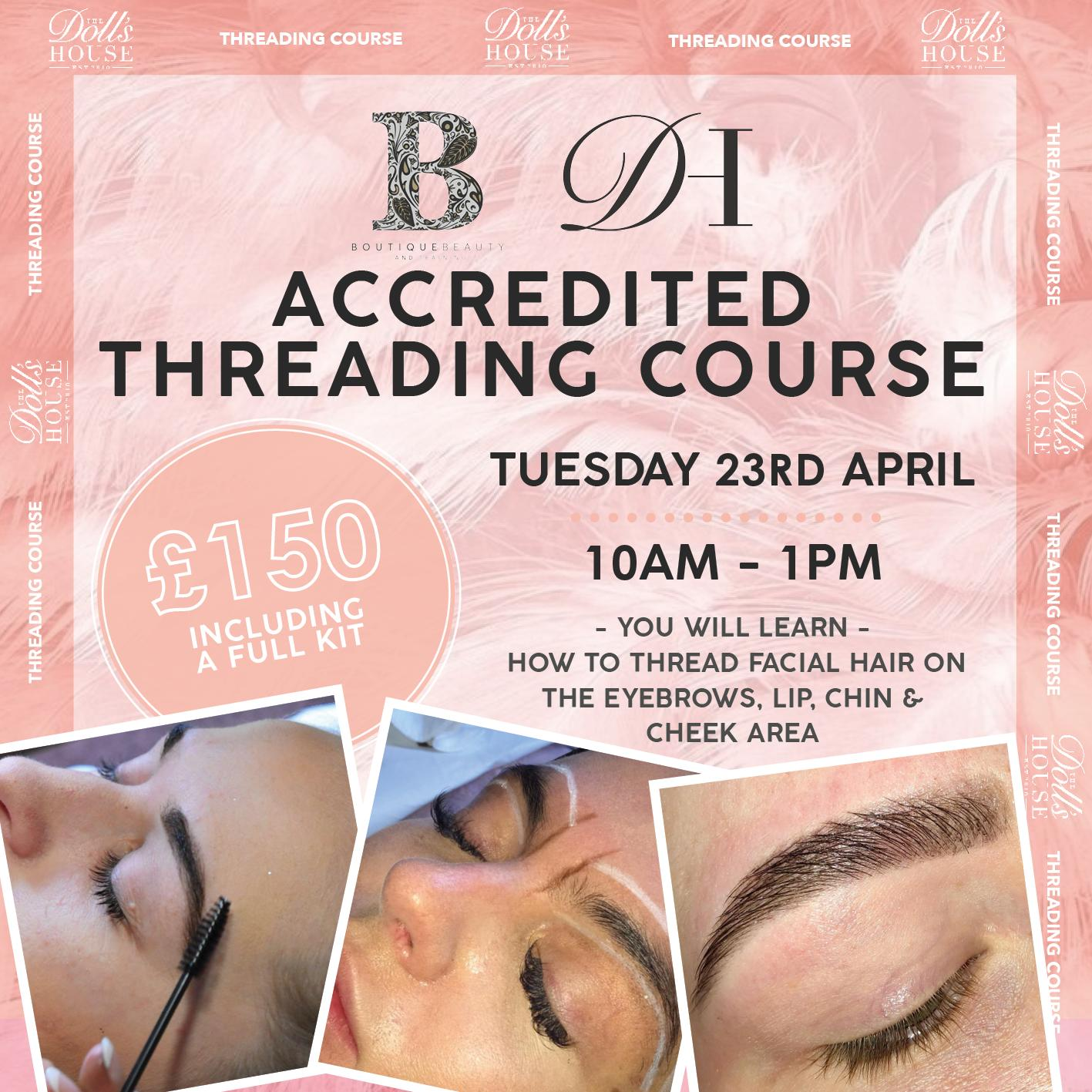 FULLY ACCREDITED THREADING COURSE
