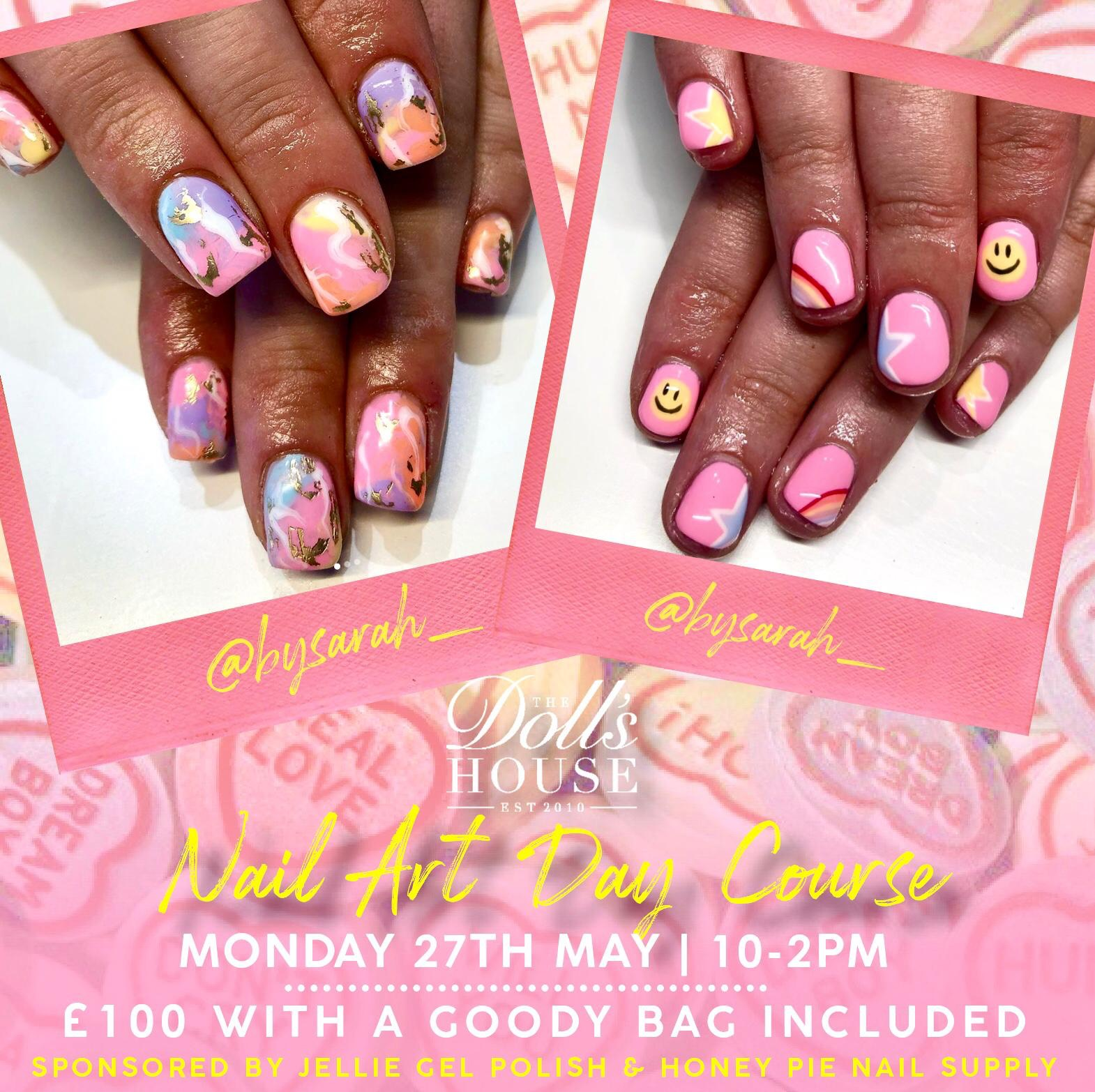 BY SARAH Nail Art Day Course